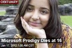 Microsoft Prodigy Arfa Karim Dead at 16