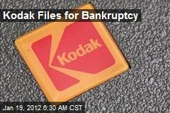 Kodak Files for Bankruptcy