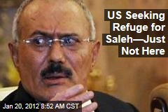 US Seeking Refuge for Yemen President Ali Abdullah Saleh