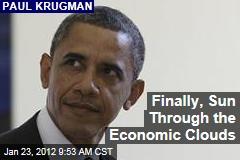 Paul Krugman: Economy May Be Improving