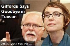 Giffords Says Goodbye in Tucson