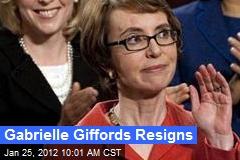 Gabrielle Giffords Resigns