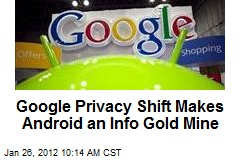Google Privacy Shift Makes Android an Info Gold Mine