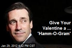 Hamm Up Valentine's Day With Actor's Mug on Card