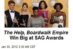 The Help, Boardwalk Empire Win Big at SAG Awards