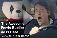 The Awesome Ferris Bueller Ad Is Here