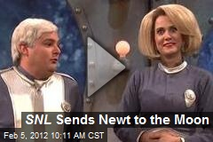 SNL Sends Newt to the Moon
