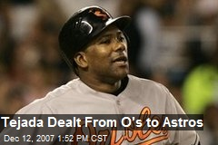 Tejada Dealt From O's to Astros
