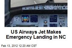 US Airways Jet Makes Emergency Landing in NC