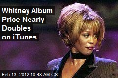 Whitney Album Price Nearly Doubles on iTunes