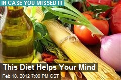 This Diet Helps Your Mind
