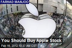 You Should Buy Apple Stock
