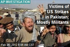 Victims of US Strikes in Pakistan 90% Militants