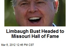 Limbaugh Bust Headed to Missouri Hall of Fame