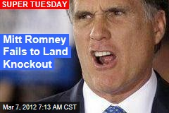 Mitt Romney Fails to Land Knockout