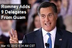 Romney Adds 9 Delegates From Guam