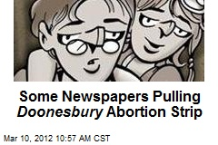 Some Newspapers Pulling Doonesbury Abortion Strip