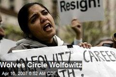 Wolves Circle Wolfowitz