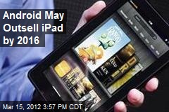 Android May Outsell iPad by 2016