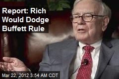 Report: Rich Would Dodge Buffett Rule