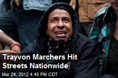Trayvon Marchers Hit Streets Nationwide