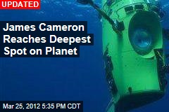James Cameron Begins Deepest Ocean Dive