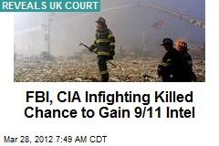 FBI, CIA Infighting Killed Chance to Gain 9/11 Intel