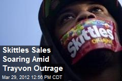 Skittles Sales Soaring Amid Trayvon Outrage