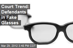 Court Trend: Defendants in Glasses