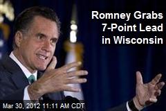 Romney Grabs 7-Point Lead in Wisconsin