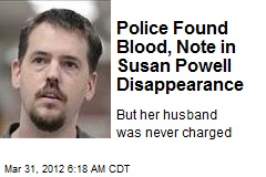 Police Found Blood, Note in Susan Powell Disappearance