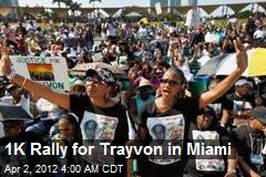 1K Rally for Trayvon in Miami