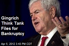 Gingrich Think Tank Files for Bankruptcy