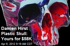 Damien Hirst Plastic Skull: Yours for $58K