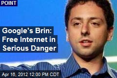 Google's Brin: Free Internet in Serious Danger