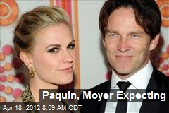 Paquin, Moyer Expecting