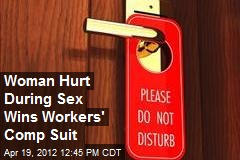 Woman Hurt During Sex Wins Workers' Comp Suit
