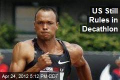 US Still Rules in Decathlon