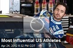 Most Influential Athletes in US