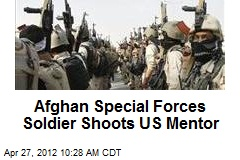 Afghan Special Forces Soldier Shoots US Mentor