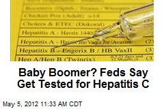 Baby Boomer? Feds Say Get Tested for Hepatitis C