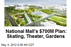 National Mall's $700M Plan: Skating, Theater, Gardens