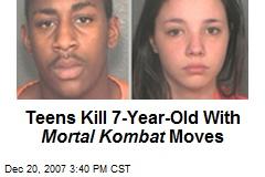 Teens Kill 7-Year-Old With Mortal Kombat Moves