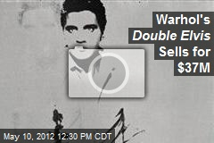 Warhol's Double Elvis Sells for $37M