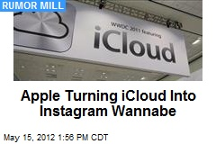 Apple Turning iCloud Into Instagram Wannabe