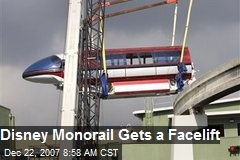 Disney Monorail Gets a Facelift
