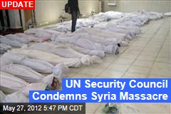 After Syria Massacre, UN Calls Emergency Meeting