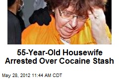 55-Year-Old Housewife Arrested Over Cocaine Stash