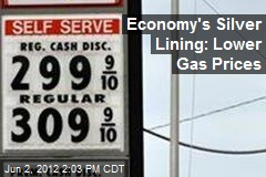 Economy's Silver Lining: Lower Gas Prices