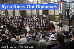 Syria Kicks Out Diplomats